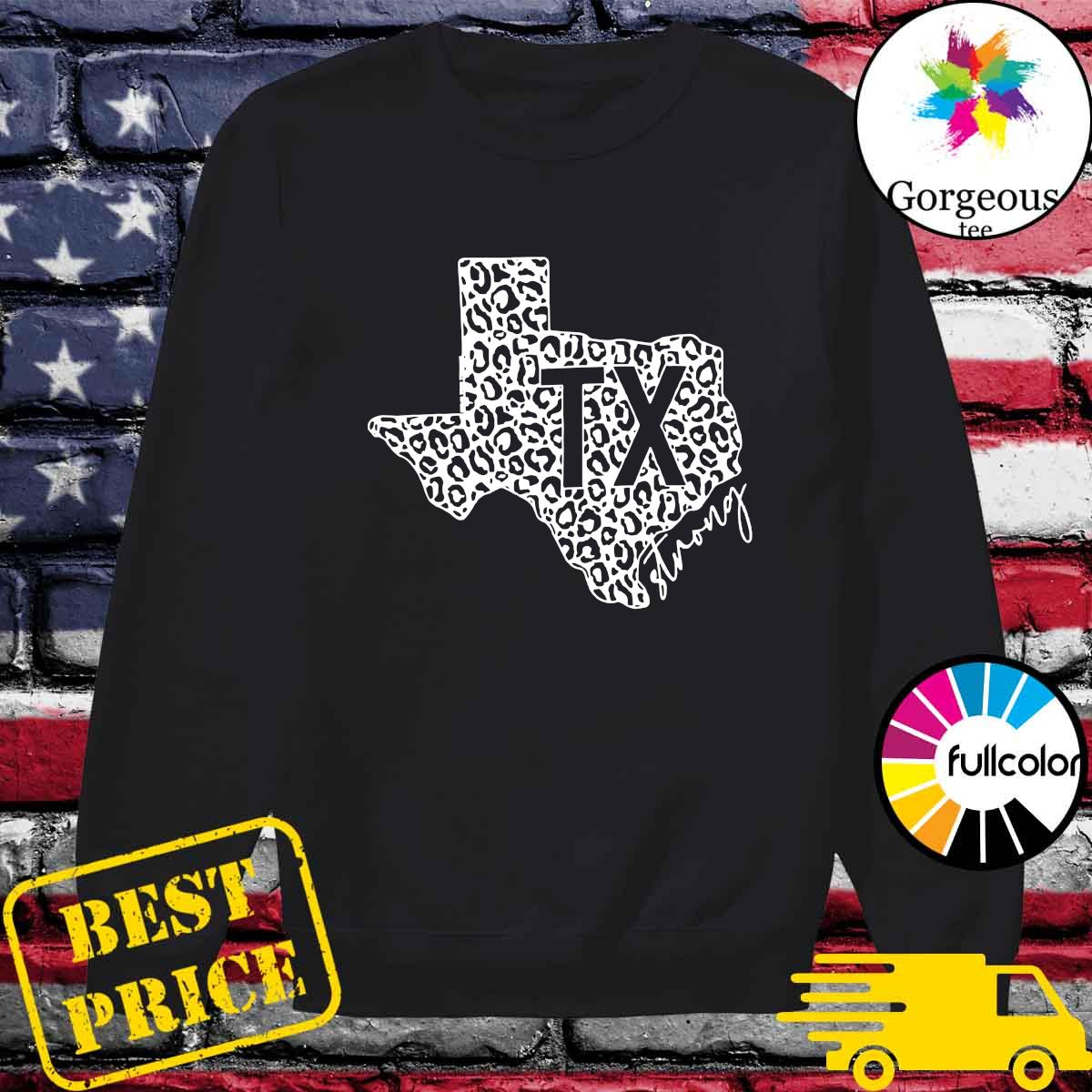 Official Maps Texas Strong I Survived Shirt Sweater