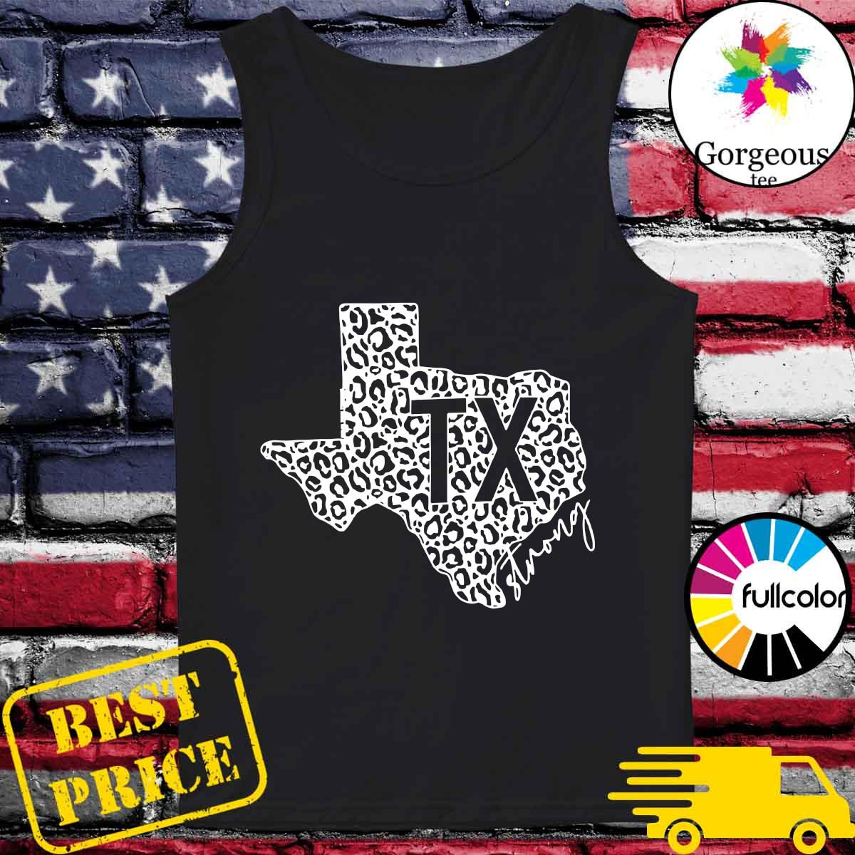 Official Maps Texas Strong I Survived Shirt Tank-top