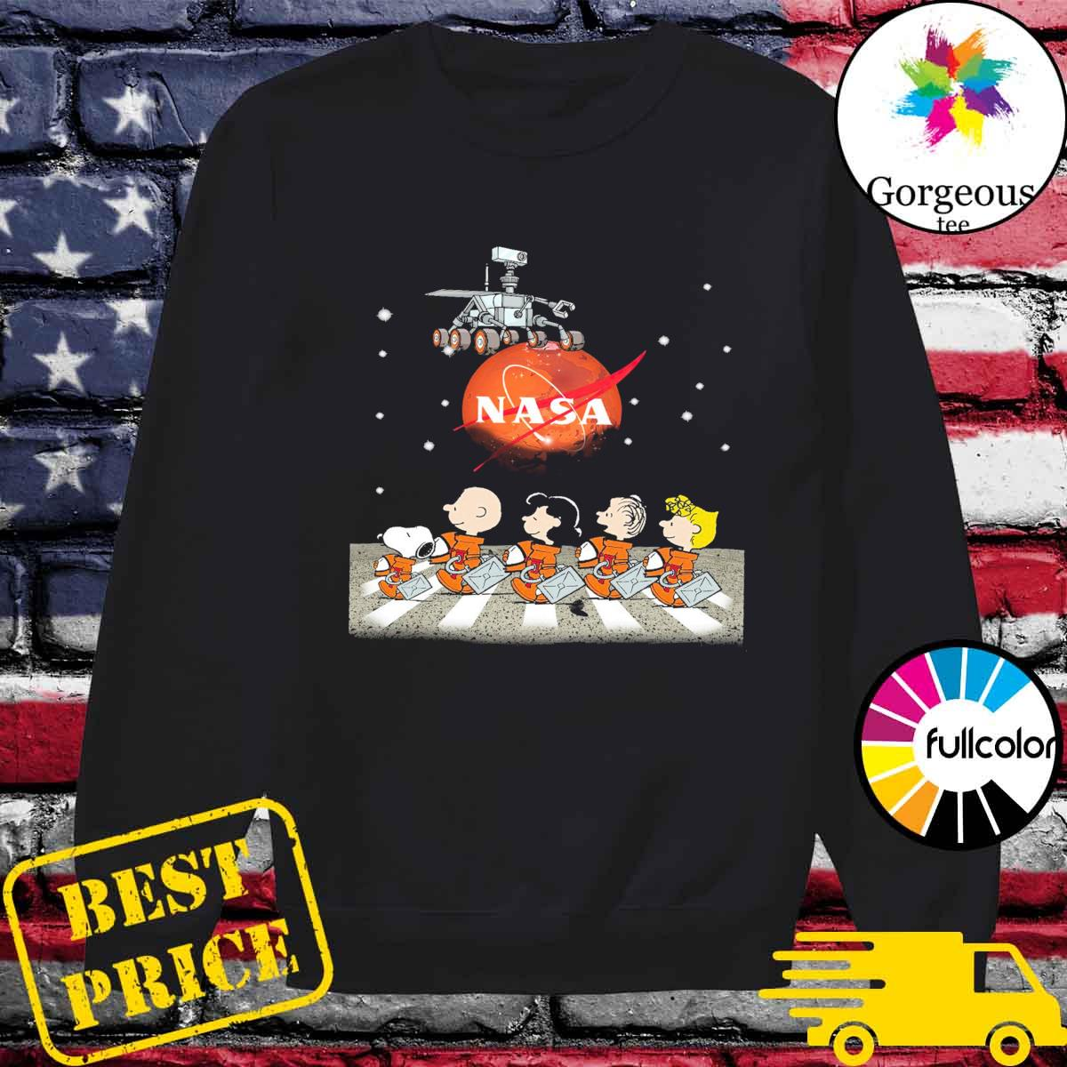 The Peanuts Walking on the Moon Nasa s Sweater