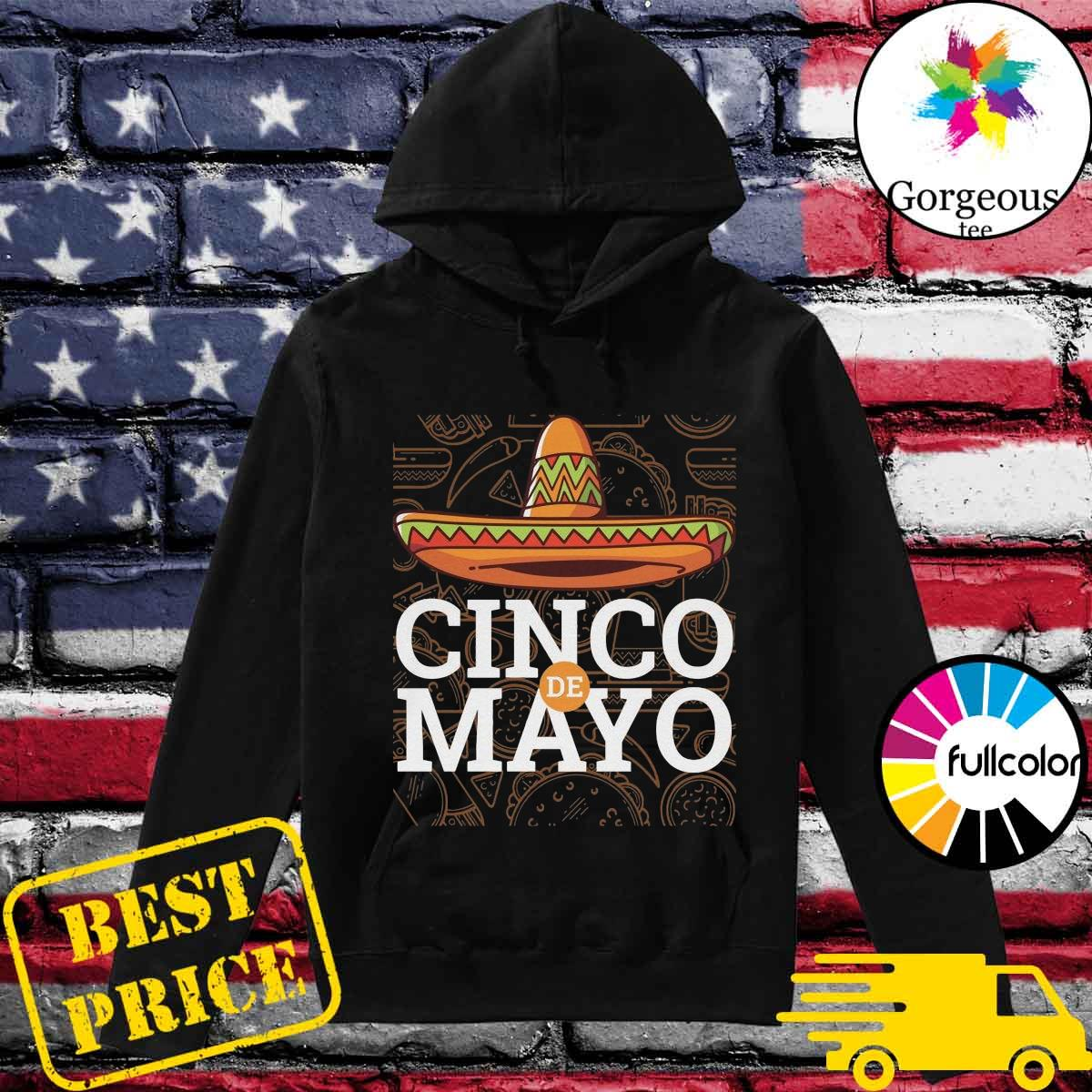 Official Cinco De Mayo 2021 Shirt Hoodie