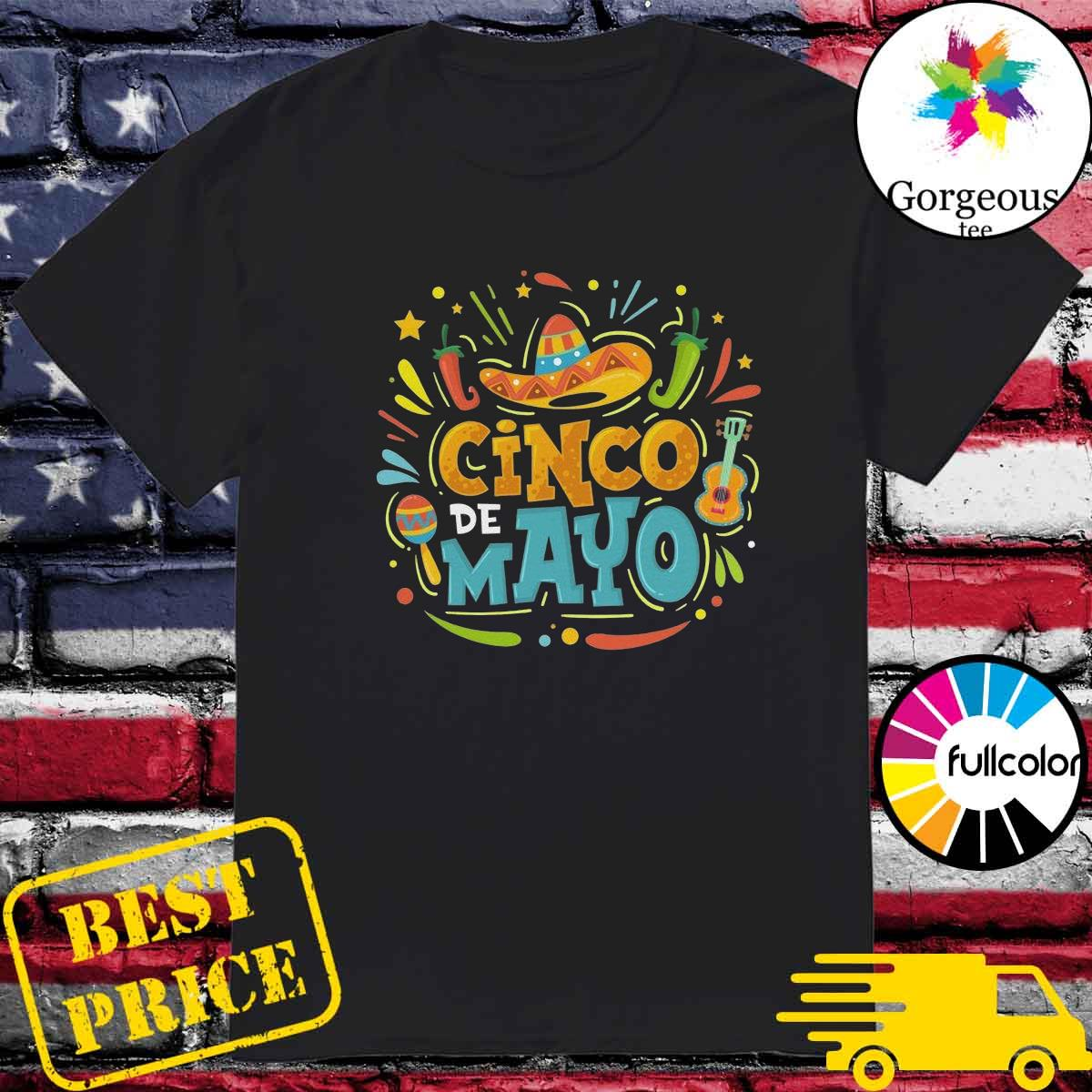 Official Cinco De Mayo Unisex Tee Shirt