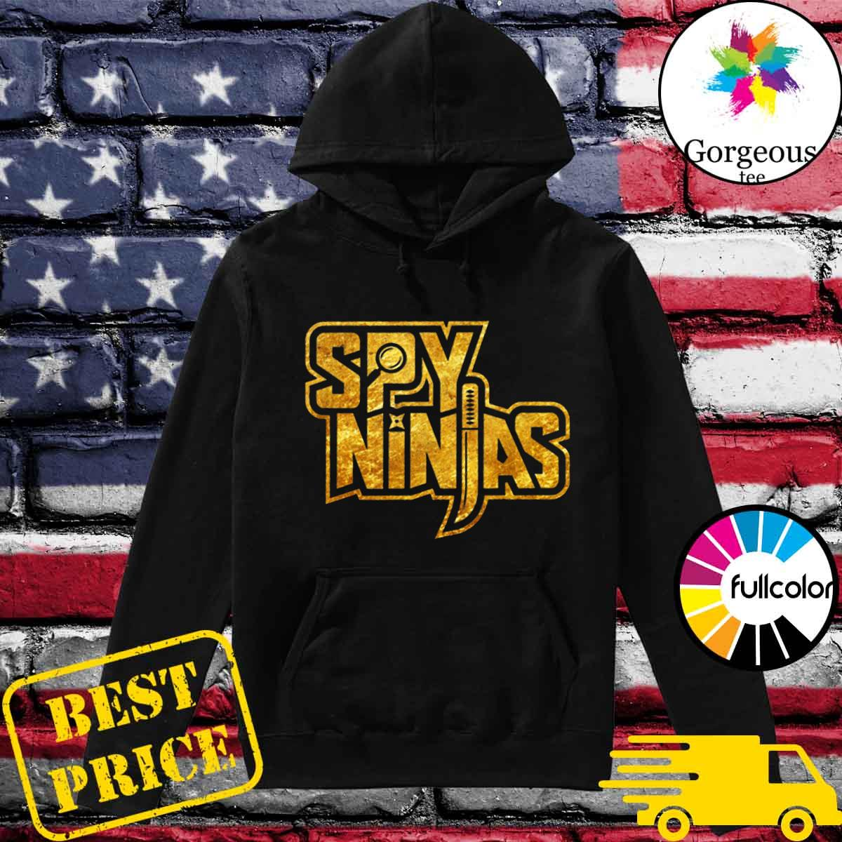 Official Spy Gaming Ninjas Tee Game Wild With Clay Style Shirt Hoodie