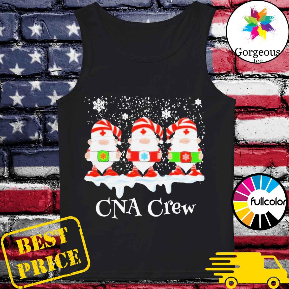 Gnome nurse cna crew merry Christmas 2020 s Tank-top