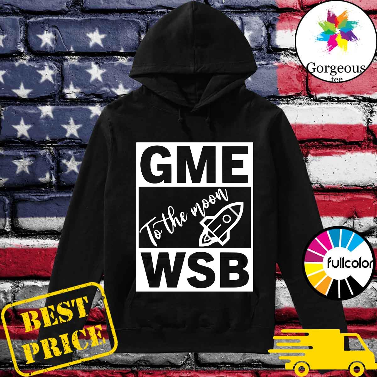 GME - WSB Game To The Moon s Hoodie