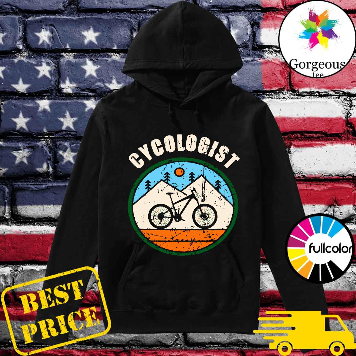 Official Cycologist Bicycle s Hoodie