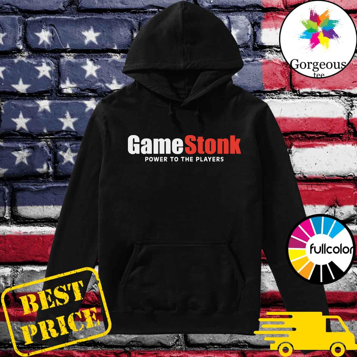 Official GameStonk - Power To The Players Shirt Hoodie