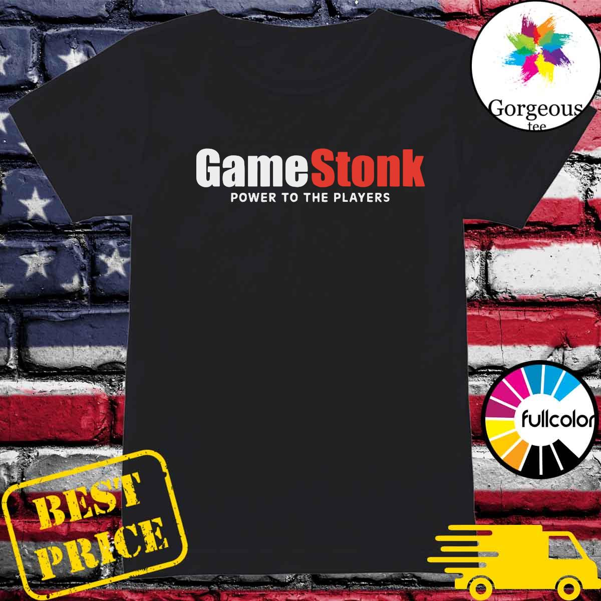 Official GameStonk - Power To The Players Shirt Ladies