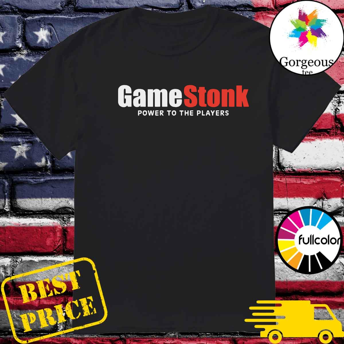 Official GameStonk - Power To The Players Shirt