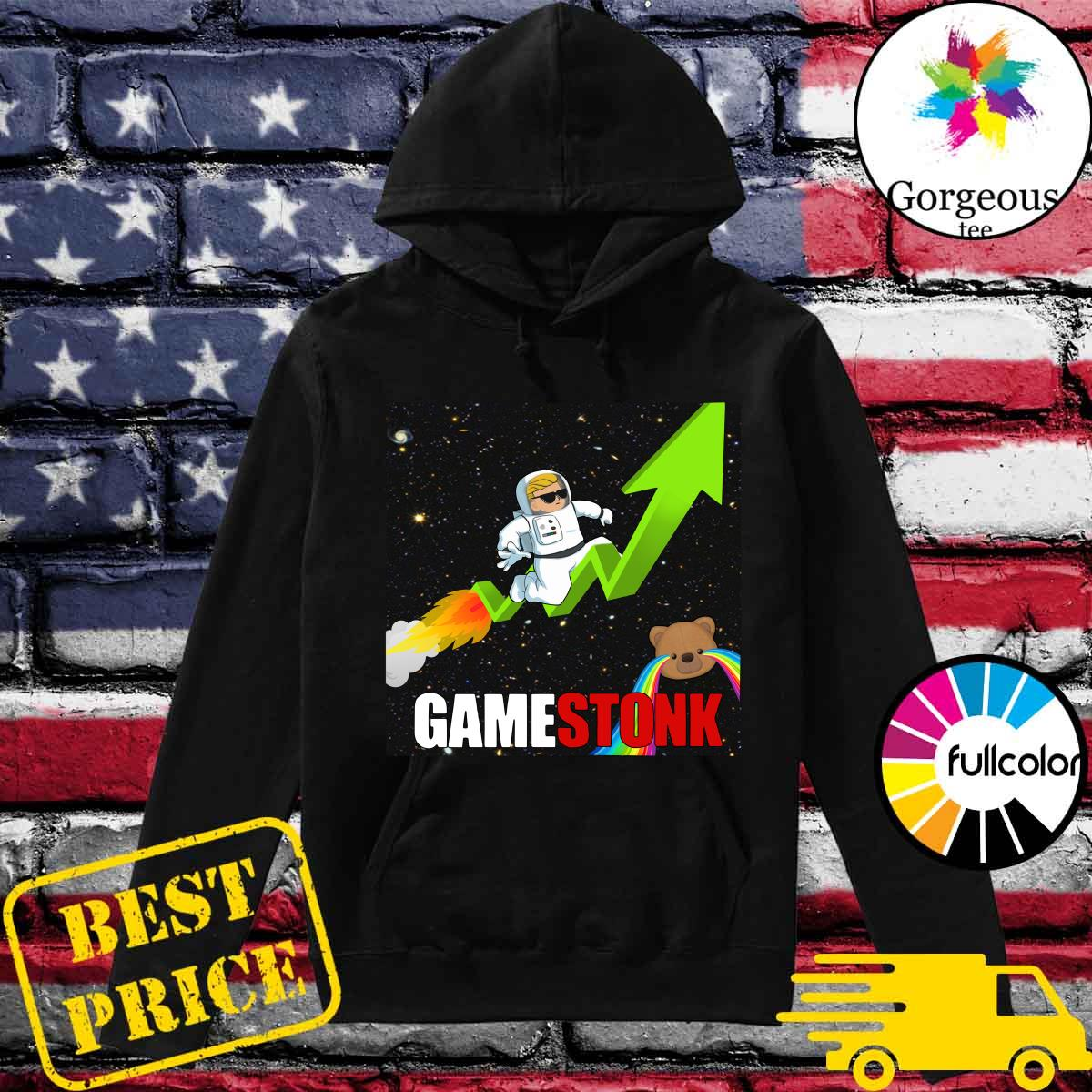 Official Logo #Gamestonk2021 – Gamestonk Stock Market – Can't Stop Game Stonk GME T-Shirt Hoodie