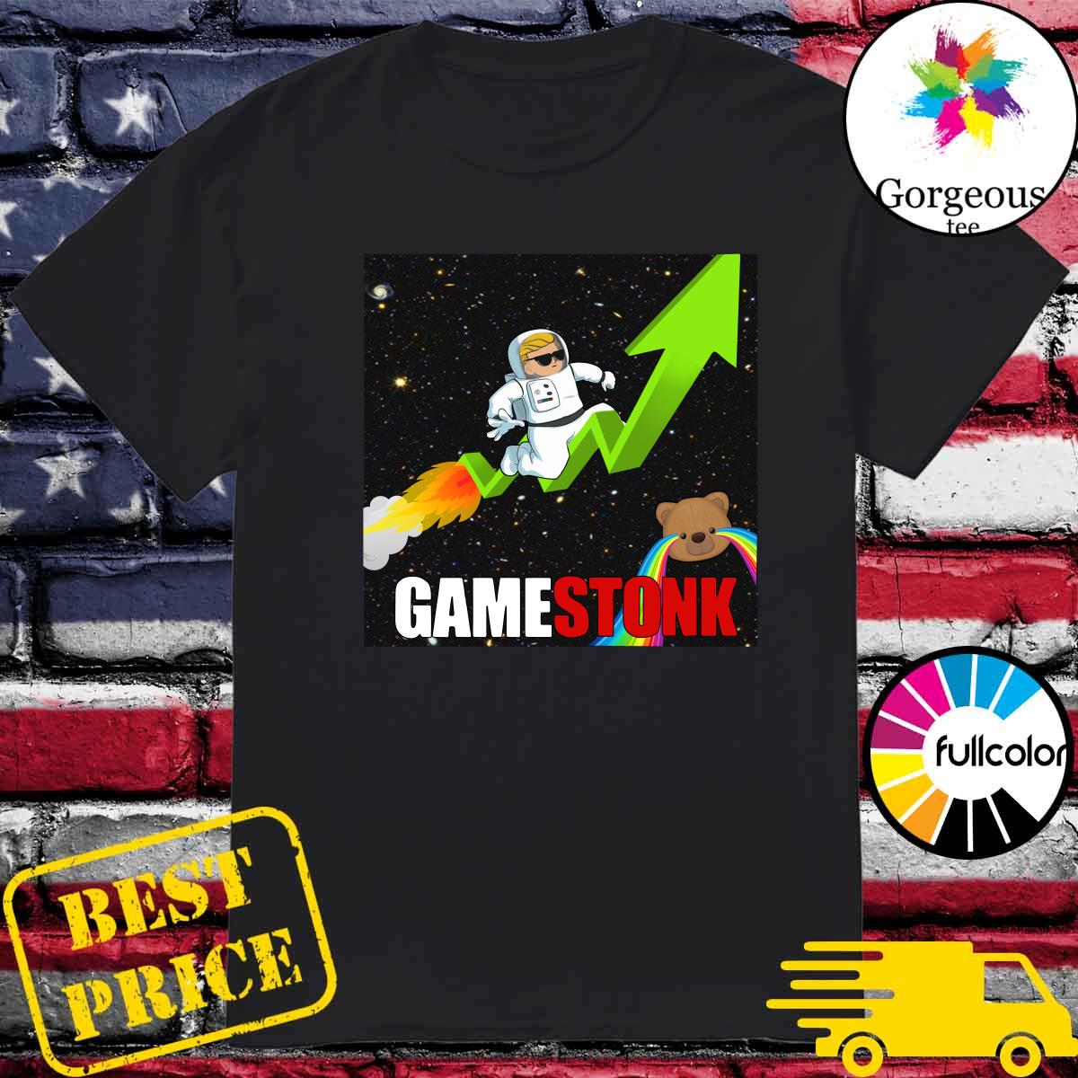 Official Logo #Gamestonk2021 – Gamestonk Stock Market – Can't Stop Game Stonk GME T-Shirt