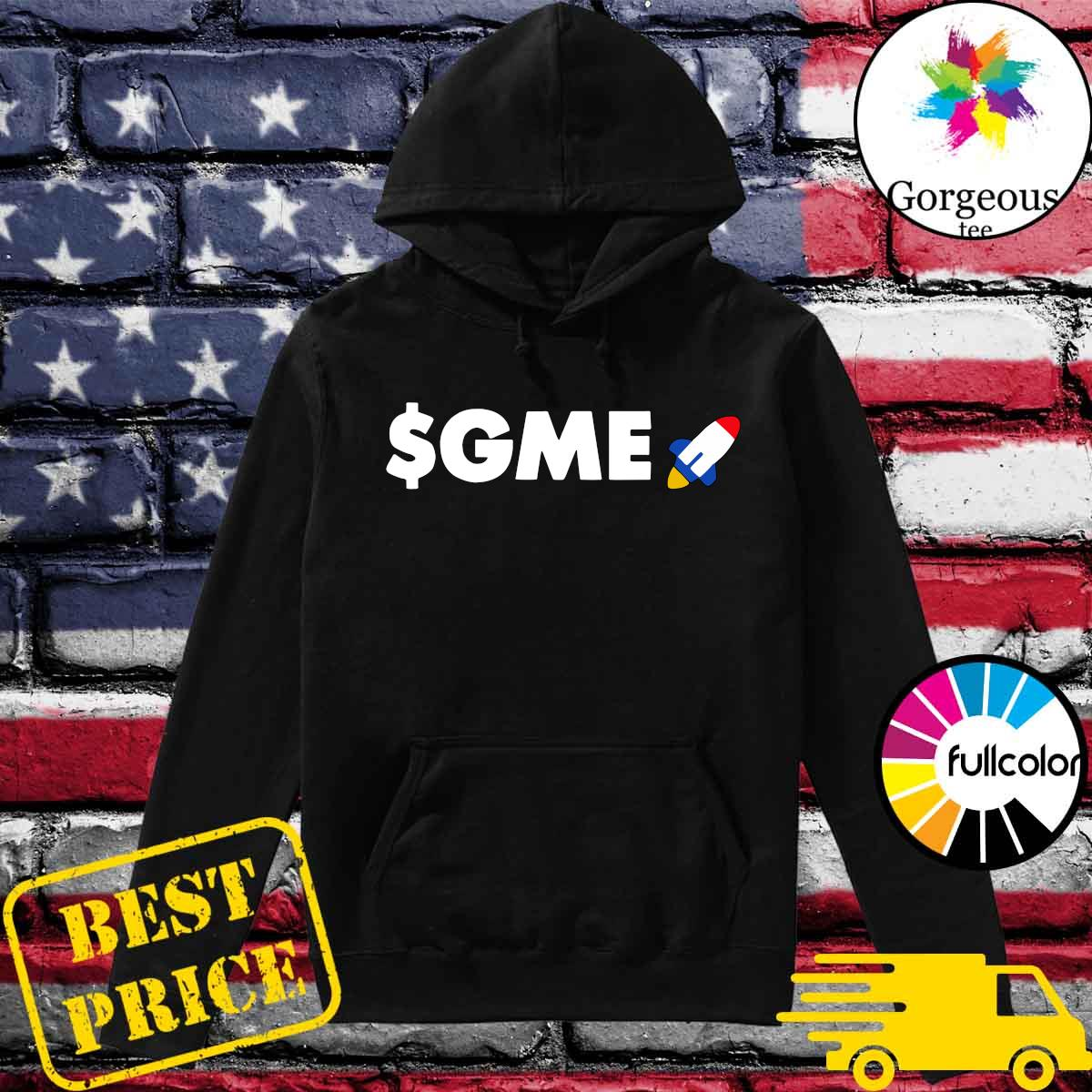 Official Logo $GME – Gamestonk Game Stonk Stop GME T-Shirt Hoodie
