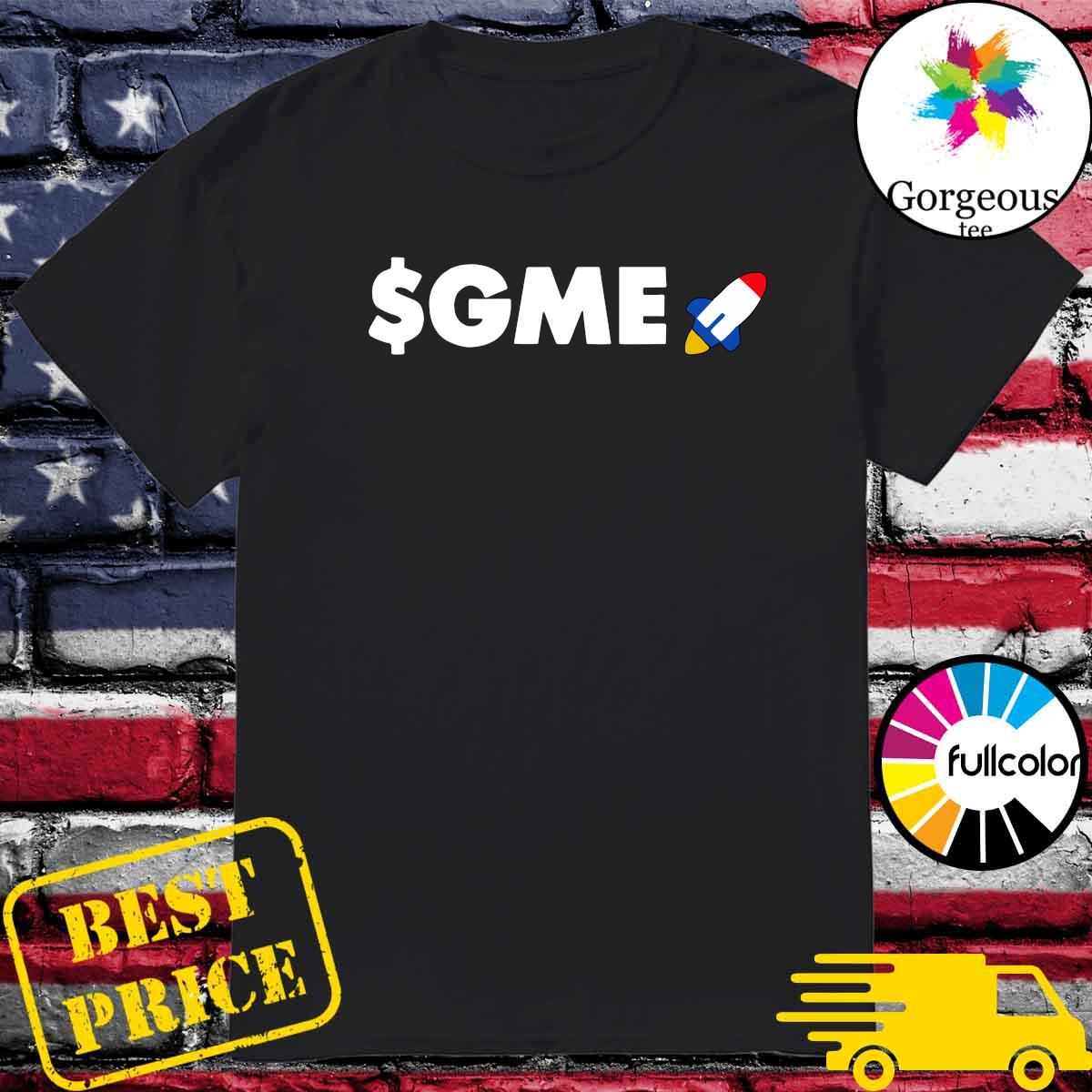 Official Logo $GME – Gamestonk Game Stonk Stop GME T-Shirt